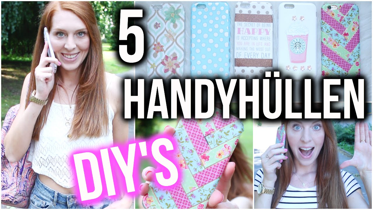 5 Easy Diy Handyhüllen Starbucks Tumblr Washi Tape Muster