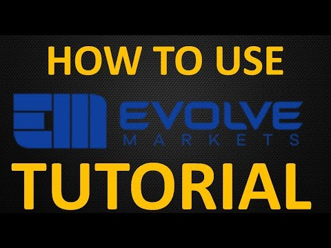 Evolve Markets Tutorial: How to Create and Use an Account (Trade Forex with Crypto)