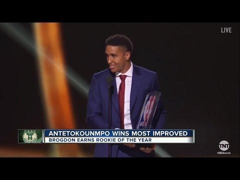 Antetokounmpo, Brogdon bring home NBA awards