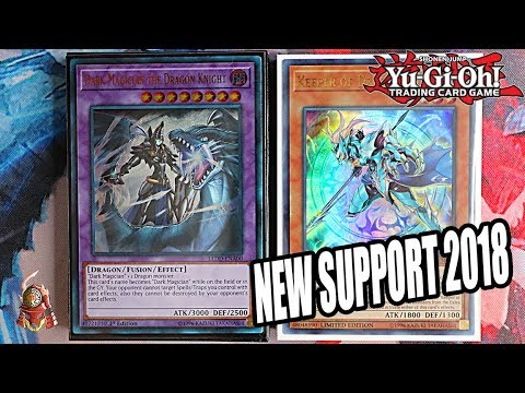 Yu-Gi-Oh! BEST! DARK MAGICIAN FUSION TURBO DECK PROFILE! FT. DRAGON MAGIC! + COMBO! (SEPTEMBER 2018)