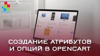 Создание атрибутов и опций в Opencart 2 (OcStore 2.1.0.2.1) #20