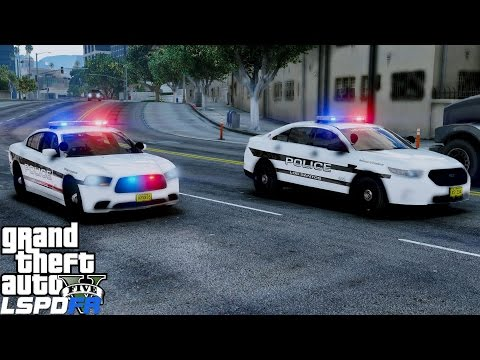 GTA 5 LSPDFR Police Mod 412 | Live Patrol In The City With The Los Santos Police Department