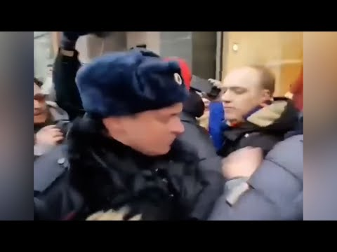 Russian Opposition Rally in Support of Navaldy
