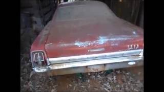 1967 Ford Galaxie 500 Barn Find w/26k miles, Part II: Archaeology