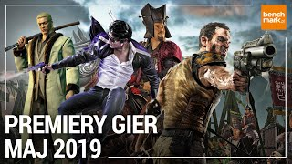 Premiery gier - maj 2019