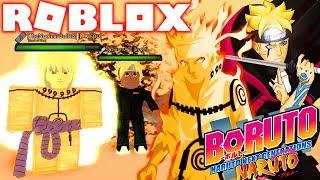 ROBLOX! -BORUTO HAS THE CURSE MARK AND AKATSUKI-INCREDIBLE SIMULATOR OF THE BORUTO SHINOBI LIFE