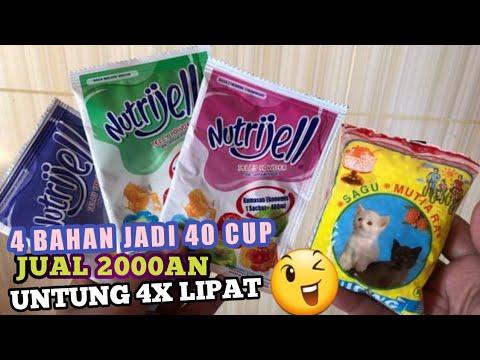 Ide Bisnis Modal Kecil 4 Bahan Jadi 40 Cup Jual 2000an Untung Besar Ide Jualan Laris!!!