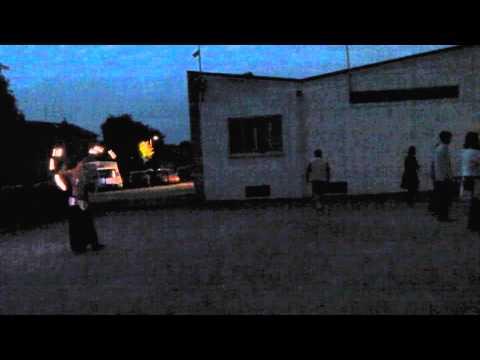 Spectacle Jonglerie Mesnie de St George et St Michel 20/06/2015