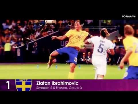 EURO 2012  Top 10 Goals  HD