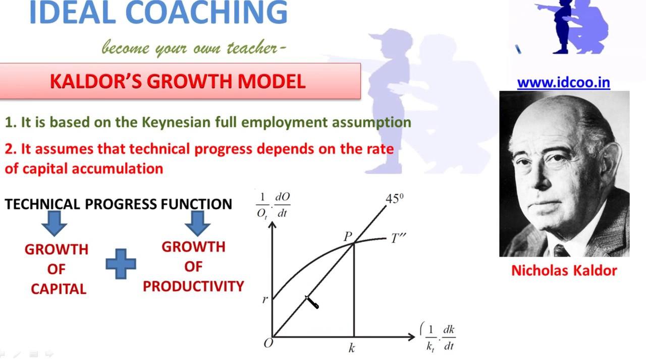 KALDORS GROWTH MODEL HINDI PART F1