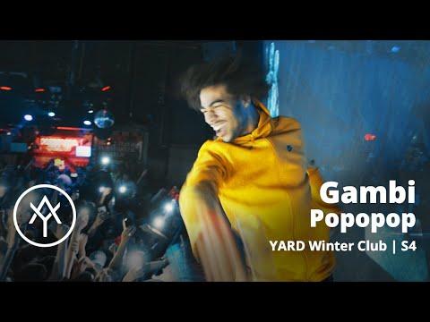 Youtube: Gambi déchaîné avec«Popopop» sur la scène du YARD Winter Club