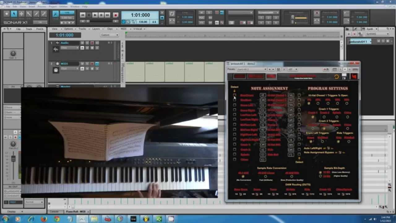 Drum Vst Sample Library And Kontakt plugin - Adam Monroe's Beats