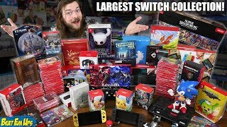 Download Worlds LARGEST Nintendo Switch Game Collection Mp3 and Videos