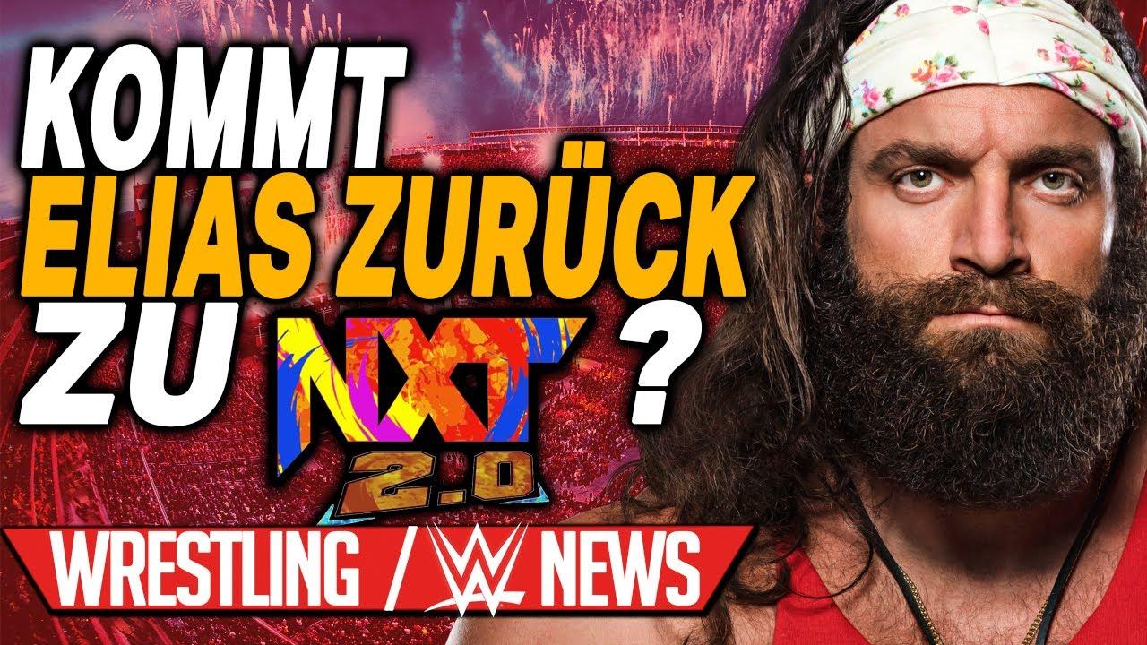 Elias zurück zu NXT 2.0?, Infos rund um Bray Wyatt | Wrestling/WWE NEWS 122/2021
