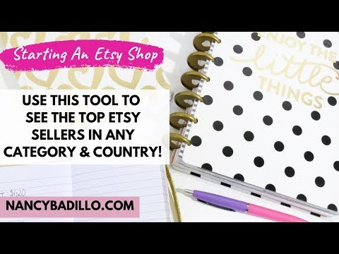 Selling on Etsy for Beginners 2020  - Starting An Etsy Shop | Nancy Badillo