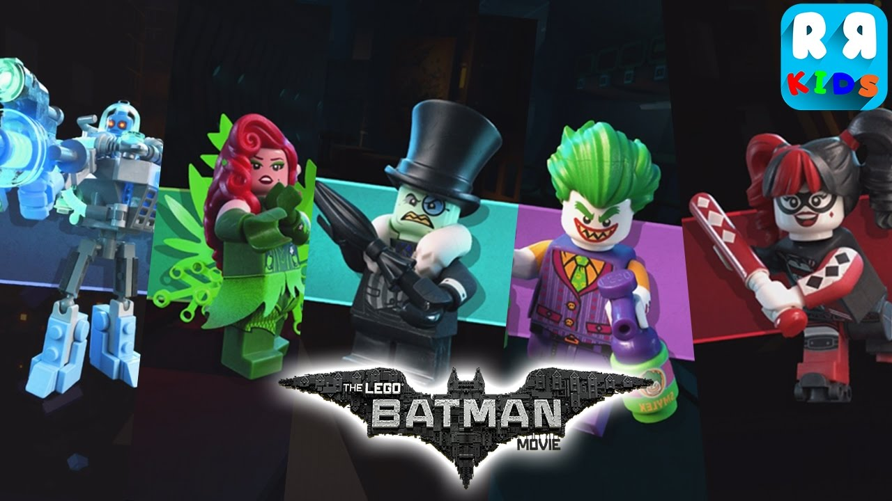 The Lego Batman Movie Game Fight All The Boss Youtube