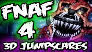 FNAF 4 JUMPSCARES in 3D! || FNAF 4 Little Big Planet 3 Five Nights at Freddy's 4 Jumpscares