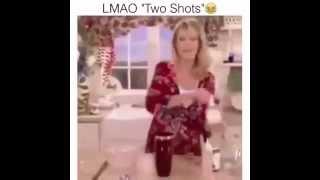 2  SHOTS OF  VODKA VINE