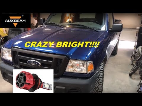 Ford Ranger LED Headlights Upgrade 9007 AuxBeam  7000lm!!!