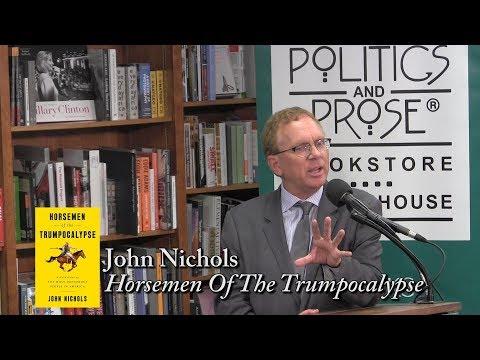"""John Nichols, """"Horsemen of the Trumpocalypse"""""""