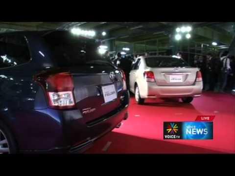 โตโยต้าเปิดตัวรถยนต์รุ่นใหม่ตระกูลโคโรลลา   Voice TV