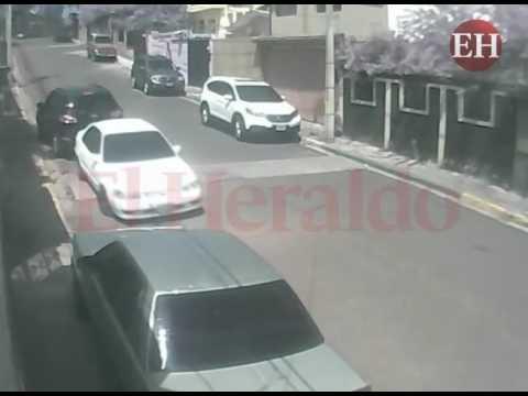 Video capta cómo asaltan en las calles de la capital de Honduras