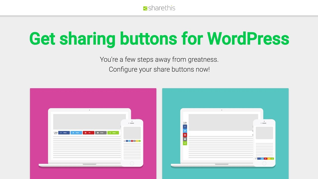 ShareThis: Installing the Share Button Plugin for WordPress