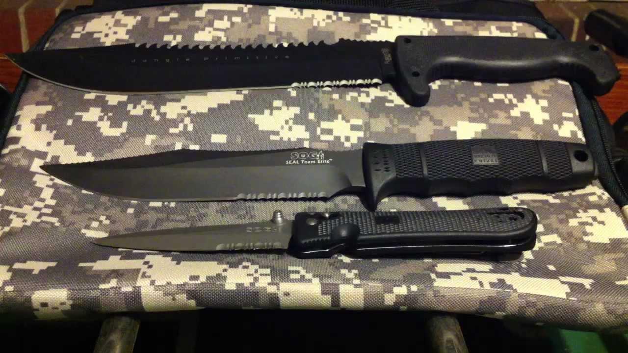 SOG Knives - YouTube