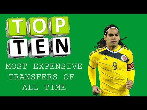 TOP 10 MOST EXPENSIVE FOOTBALL TRANSFERS OF ALL TIME.