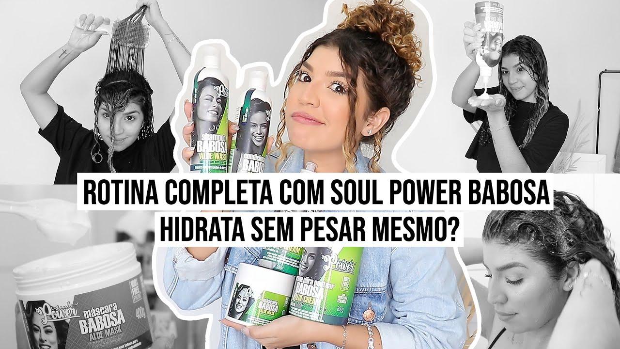 ROTINA COMPLETA COM SOUL POWER BABOSA *é tudo isso mesmo?* | por Jessica Melo