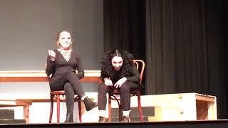 Dina Kasman and Gracie Phillips, duet acting
