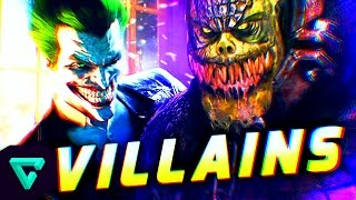 Top 10: Batman Villains In Arkham Video Games