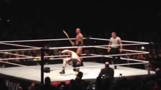 Brock Lesnar vs. Randy Orton - WWE Live - Chicago, IL - The Rematch 09/24/16