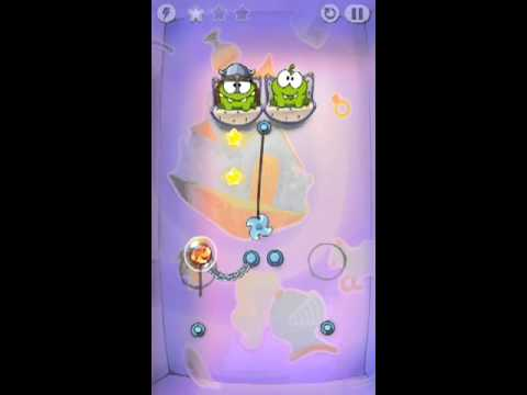 Cut The Rope Time Travel Level 1-14 Walkthrough | The Middle Ages Level 1-14 Walkthrough