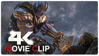 Thor Vs Thanos - Fight Scene - Captain America vs Thanos - AVENGERS 4 ENDGAME (2019) Movie CLIP 4K