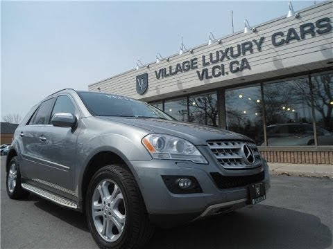 2010 Mercedes Benz Ml350 Bluetec In Review Village Luxury Cars Toronto