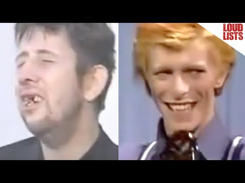 10 Rock Stars Sh!tfaced on TV