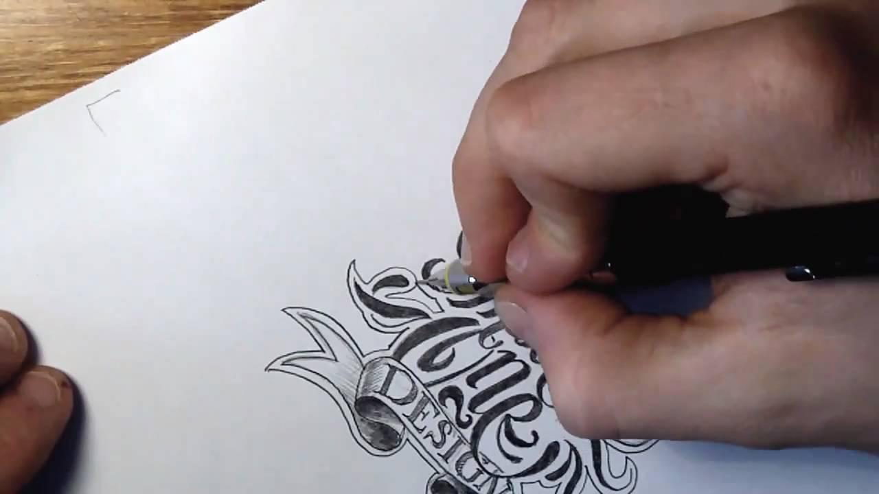 Theosone custom lettering sketch youtube altavistaventures Image collections
