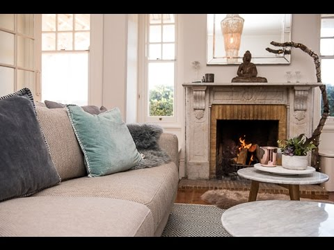 Elegant At Home With Lucy Cornes Thanks To Plush Sofas