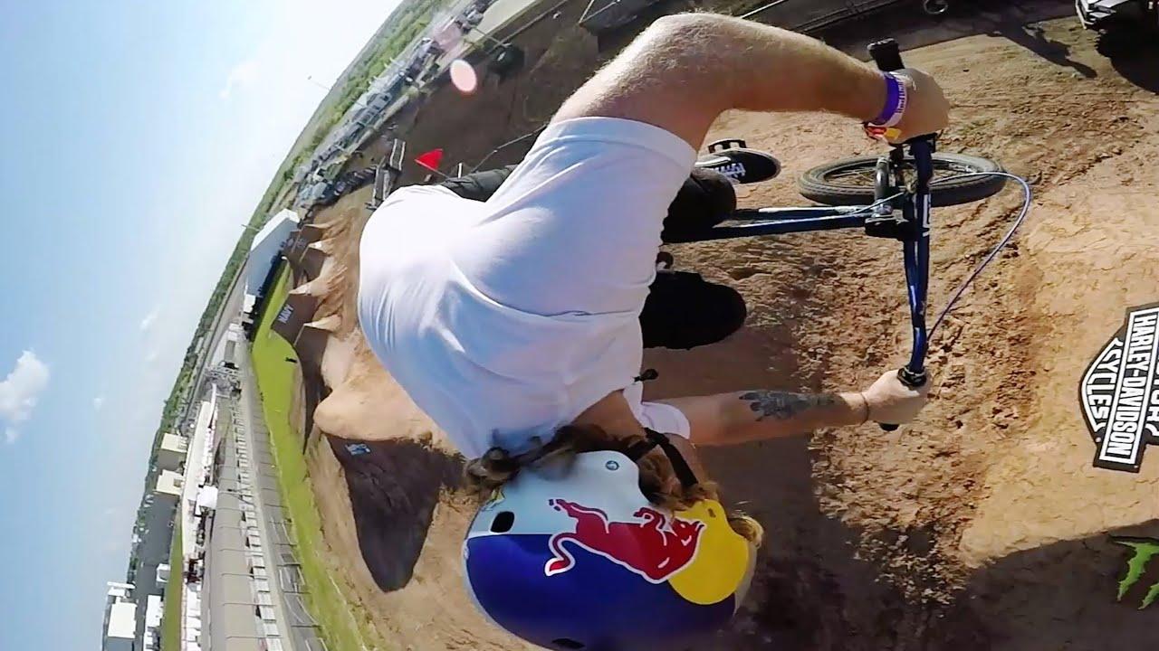 GoPro Huckers BMX Dirt Course Spotlight X Games AustinX Games Bmx Dirt