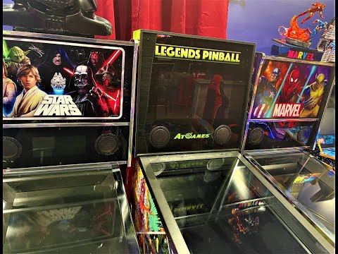 Legends pinball Vs, Arcade1Up. PART 2 What happened to 720P? from Arcade Will