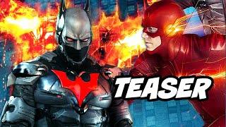 The Flash Season 6 Batman Beyond Teaser - Crisis On Infinite Earths Breakdown
