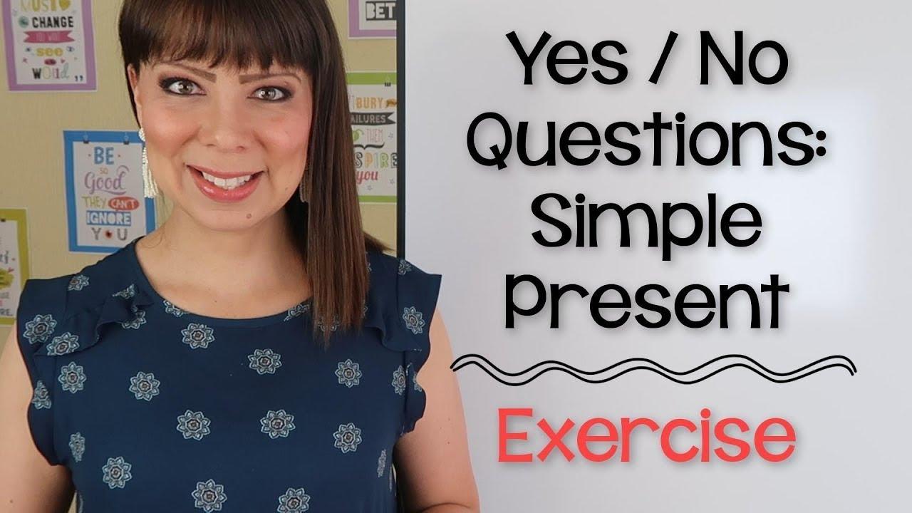 Preguntas De Si O No En Ingles Yes No Questions Youtube