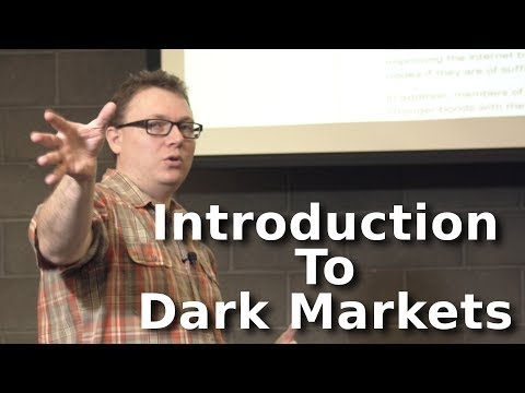 Aaron Jones: Security:Introduction To Illegal Commerce/Dark Markets on the net