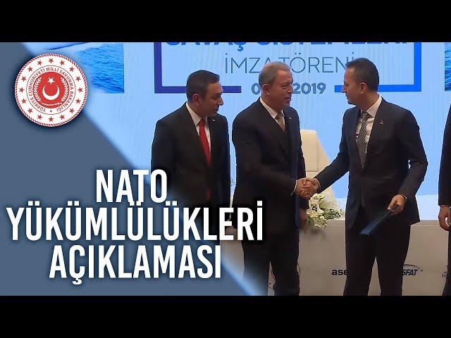Bakan Akar: Türkiye En Etkin Biçimde Nato'ya Karşı Yükümlülüklerini Yerine Getirmeyi Sürdürüyor