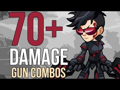 70+ DAMAGE GUN COMBO TUTORIAL! Advanced Blaster Combo Guide