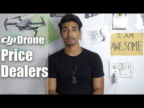 DJI Drones in India || Price, Authorised Dealers, Warranty (HINDI)