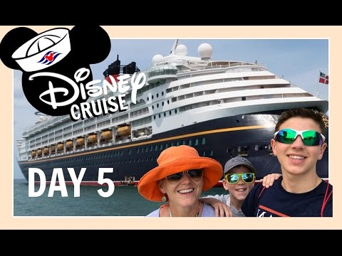 DISNEY CRUISE VACATION | DAY 5: MAKING FUN IN MARTINIQUE | Flippin' Katie
