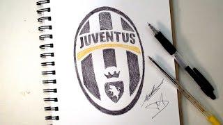 SKETCH SUNDAY #25 - How To Draw The Juventus Logo - DeMoose Art