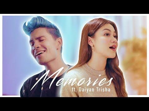 Memories (duet version) - Sam Tsui & Daiyan Trisha (Maroon 5 Cover)